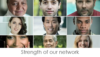 Collection of People - Strength of our Network