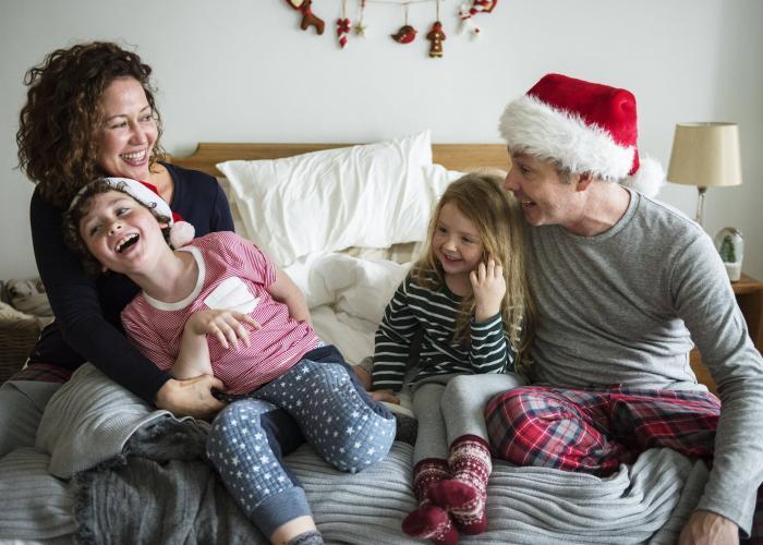 A fully insured happy family