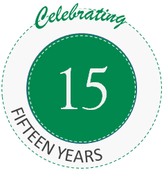 15 Years Badge